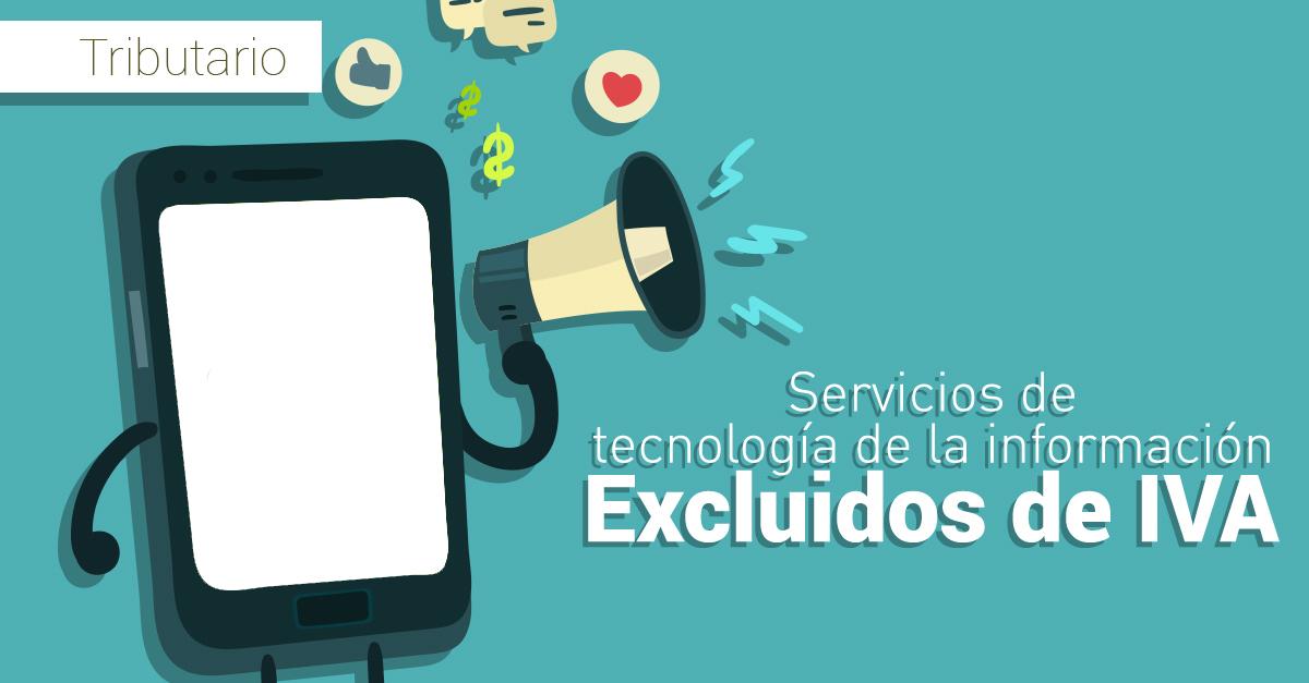 Exclusión de IVA en hosting o alojamiento web